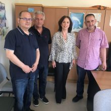 Τα θέματα  της ΔΕΗ είχαν αντικείμενο οι συναντήσεις της βουλευτή Κοζάνης του ΣΥΡΙΖΑ Καλλιόπης Βέττα