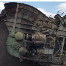 Βίντεο, με κοντινά πλάνα, από τη λειτουργία εκσκαφέα στο Ορυχείο ΔΕΗ Καρδιάς στην Κοζάνη