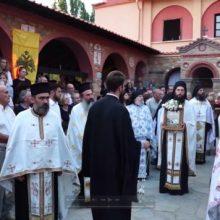 Ιερά Μονή Δρυοβούνου – Εσπερινός Εορτής της Μεταμορφώσεως του Σωτήρος 5/8/2019  (Bίντεο)