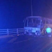 kozan.gr: Βίντεο με το κατεστραμμένο, ολοσχερώς, από τη φωτιά, λεωφορείο στην Εγνατία Οδό, πριν τα διόδια Πολυμύλου (Κοζάνης)