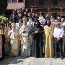Πλήθος προσκυνητών στις λατρευτικές εκδηλώσεις της πανήγυρης της Ιεράς Μονής Οσίου Νικάνορα Ζάβορδας (50 φωτογραφίες)