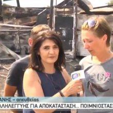 kozan.gr: Η ζωντανή σύνδεση της ΕΡΤ3, πριν από λίγο (ώρα 17:00), με το Βατερό Κοζάνης, με σκοπό την ανάδειξη της προσπάθειας του Γεωργοκτηνοτροφικού Συλλόγου Κοζάνης, ώστε να ξαναστηθεί το ποιμνιοστάσιο του συναδέλφου τους, Γεώργιου Τσακμάκη, το οποίο καταστράφηκε ολοσχερώς μετά από πυρκαγιά (Βίντεο)