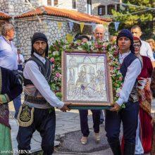 Πραγματοποιήθηκε, το απόγευμα της Τετάρτης 14 Αυγούστου, ο Πολυαρχιερατικός Εσπερινός στην Παναγία Σουμελά στο Βέρμιο