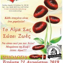 Ο Ιππικός σύλλογος Κοζάνης ¨Άγιος Θεόδωρος¨ συμμετέχει στην Αιμοδοσία του ΣΕΑ Κοζάνης, την Τετάρτη  21 Αυγούστου