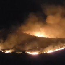 Βίντεο, πριν από 50 λεπτά περίπου, με εικόνες από την πυρκαγιά σε χορτολιβαδική έκταση 2χλμ ανατολικά του Βαρικού Φλώρινας