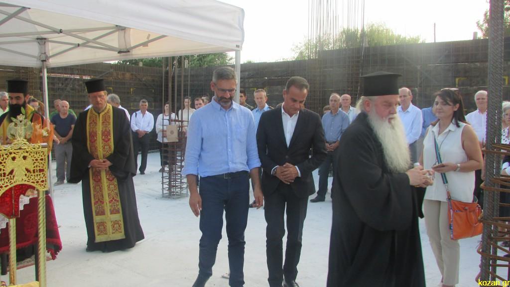 kozan.gr: Πραγματοποιήθηκε, το απόγευμα της Τετάρτης 21/8, η ακολουθία της Θεμελίωσης της νέας πτέρυγας του Τιάλειου Εκκλησιαστικού Γηροκομείου Κοζάνης