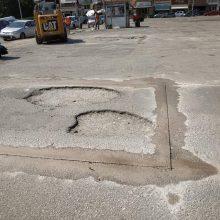 kozan.gr: Εργασίες συντήρησης – αποκατάστασης οδοστρώματος, σε εξέλιξη, σήμερα Πέμπτη 22/8, στο χώρο της λαϊκής αγοράς Πτολεμαΐδας (Φωτογραφίες)