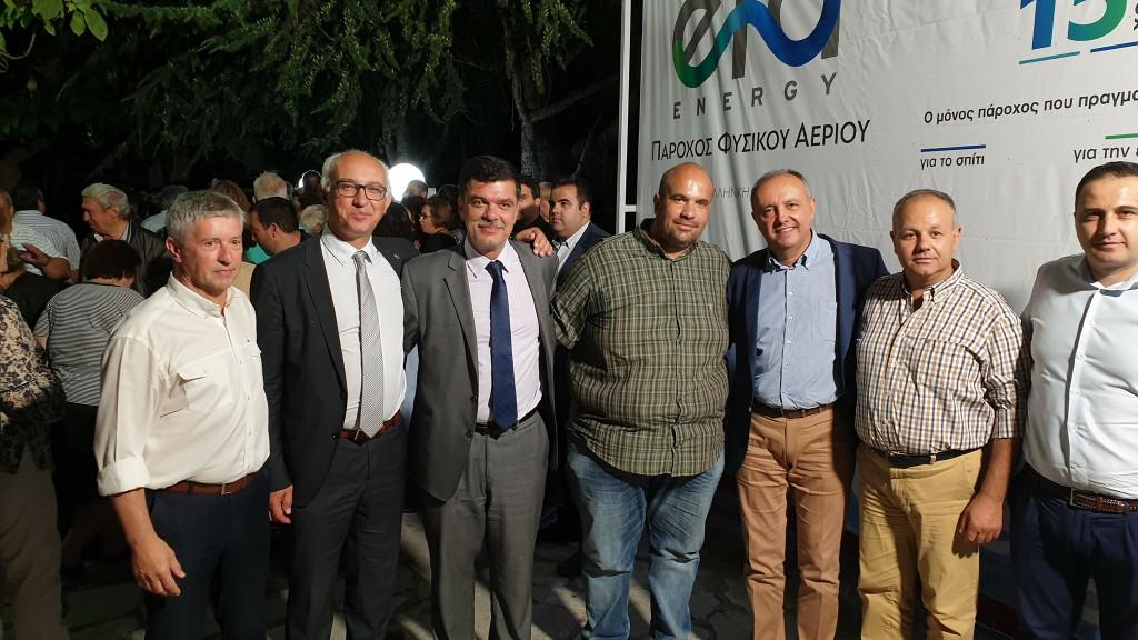 Παρουσία του βουλευτή Γρεβενών, Ανδρέα Πάτση, σε εκδήλωση για το φυσικό αέριο στο Δήμο Δεσκάτης (Δελτίο τύπου)