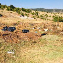Καταγγελία αναγνώστη στο kozan.gr: Σκουπίδια πεταμένα στο δρόμο Βατερού – Αργίλου λίγο πιο έξω από το Βατερό (Φωτογραφίες)