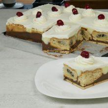 To foodaholics.gr προτείνει γλυκό ψυγείου με 2 είδη κρέμας και κρουασάν