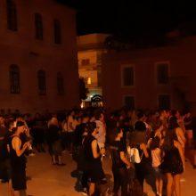 kozan.gr: Υπό τους ήχους της Heavy Metal διασκέδασαν όσοι βρέθηκαν στο 'Kozani Four' metal festival, στο προαύλιο του Βαλταδωρείου Γυμνασίου, το βράδυ του Σαββάτου 31/8  (Φωτογραφίες & Βίντεο)