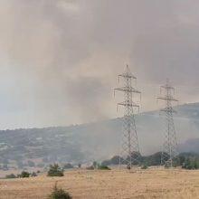 kozan.gr: Ώρα 17.45: Πτήση των καναντέρ μέσα από τους καπνούς και σε χαμηλό ύψος κοντά στα Λεύκαρα Σερβίων  (Βίντεο)