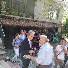 Επίσκεψη στην Πέλλα πραγματοποίησε την Τρίτη 3 Αυγούστου ο Βουλευτής N. Κοζάνης της Νέας Δημοκρατίας Αμανατίδης Γιώργος