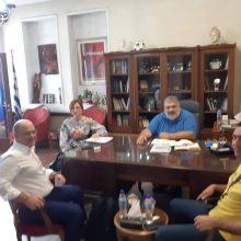 Συνάντηση Δημάρχου Εορδαίας με τον Δ/ντή Ερευνών Παραρτήματος Πτολεμαΐδας του ΕΚΕΤΑ/ΙΔΕΠ