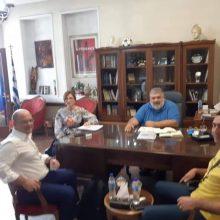 Συνάντηση Δημάρχου Εορδαίας με τον Δ/ντή Ερευνών Παραρτήματος Πτολεμαΐδας του ΕΚΕΤΑ/ΙΔΕΠ.