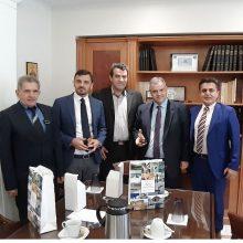 Επίσκεψη Κλιμακίου Βουλευτών ΝΔ στον Αντιπεριφερειάρχη Καστοριάς