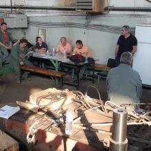 Η περιοδεία του βουλευτή του ΚΚΕ Γιάννη Δελή στο ορυχείο Νότιο Πεδίο στην ΔΕΗ και στο σταθμό ΑΗΣ Αγ. Δημητρίου
