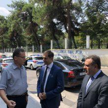 kozan.gr: Επίσκεψη στη Δημοτική Βιβλιοθήκη Κοζάνης, το μεσημέρι της Παρασκευής 6/9, του Υπουργού και Υφυπουργού Τουρισμού (Βίντεο & Φωτογραφίες)