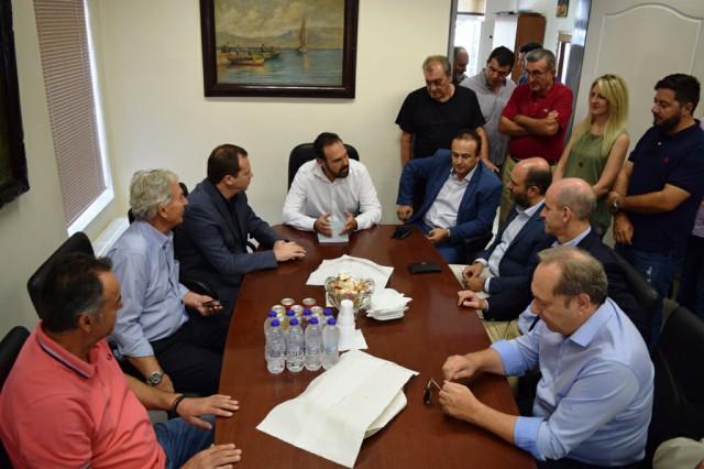 Κλιμάκιο Βουλευτών της Νέας Δημοκρατίας  επισκέφτηκε τον Δήμαρχο Φλώρινας Βασίλη Γιαννάκη