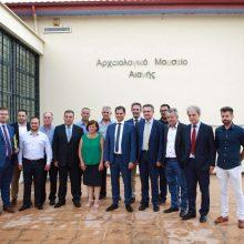 Η επίσκεψη του Υπουργού Τουρισμού   Χ.Θεοχάρη και του Υφυπουργού  Μ. Κόνσολα στην Αιανή (Φωτογραφίες)