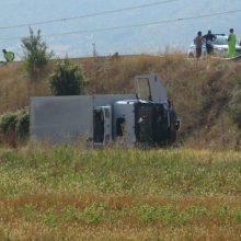 Kozan.gr: Τροχαίο ατύχημα στην Εγνατία οδό στο ύψος του ΑΗΣ Αγ. Δημητρίου – Φορτηγό συγκρούσθηκε με Ι.Χ. αυτοκίνητο  (Φωτογραφίες & Βίντεο)
