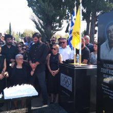 Τελέστηκε, την Κυριακή 8 Σεπτεμβρίου, στο ναό της Αναστάσεως, στα Κοιμητήρια της Θέρμης, το 40ήμερο μνημόσυνο του Ολυμπιονίκη Γιώργο Ποζίδη