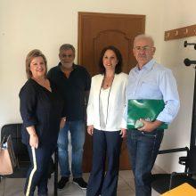 Σειρά επαφών της Βουλευτή ΣΥΡΙΖΑ ΠΕ Κοζάνης κ. Καλλιόπης Βέττα με θεσμικούς φορείς και πολιτιστικούς συλλόγους>>
