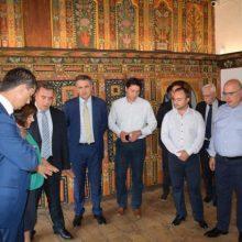 Το Αρχοντικό της Πούλκως στη Σιάτιστα και το Αρχαιολογικό Μουσείο Αιανής επισκέφθηκαν την Παρασκευή 6/9 ο Υπουργός και ο Υφυπουργός Τουρισμού