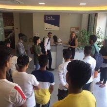 Επίσκεψη της Δομής Φιλοξενίας Ασυνόδευτων Ανηλίκων στη Σχολή Αεροπορικής Εκπαίδευσης Egnatia Aviation