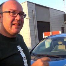 Ο Θάνος Τουρτούρας από την Κοζάνη, στο ταξίδι του από τη Ρόδο στη Κοζάνη, με το ηλεκτρικό αυτοκίνητο του Nissan Leaf, πρώτης γενιάς με 24kwh (Βίντεο)