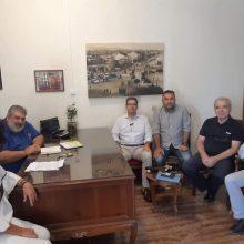 Συνάντηση Δημάρχου Εορδαίας Παναγιώτη Πλακεντά με τον Πρύτανη του Πανεπιστημίου Δυτικής Μακεδονίας