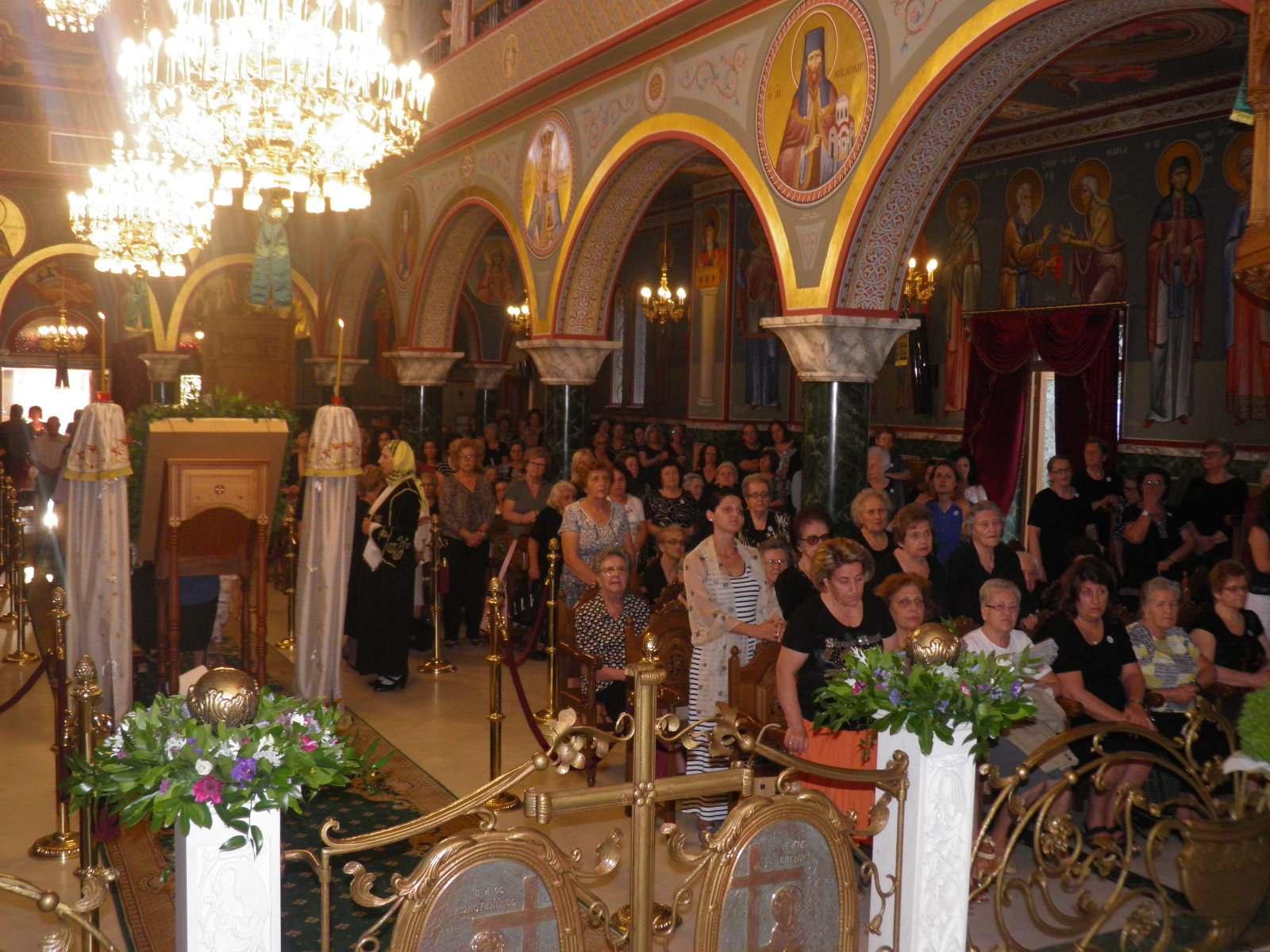 Kozan.gr: Μέγας Πανηγυρικός Αρχιερατικός Εσπερινός, με αφορμή τον εορτασμό της Υψώσεως του Τιμίου Σταυρού,  πραγματοποιήθηκε στον Ιερό Ναό των Αγίων Κωνσταντίνου και Ελένης Κοζάνης, το απόγευμα της Παρασκευής 13/9 (Φωτογραφίες & Βίντεο)