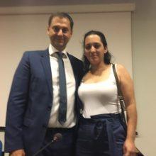 Συνάντηση της εντεταλμένης συμβούλου του Δήμου Σερβίων κας Νανάς Γκαμπούρα με τον Υπουργό και τον Υφυπουργό Τουρισμού
