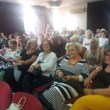 kozan.gr: Πτολεμαΐδα: Με μεγάλη συμμετοχή γυναικών πραγματοποιήθηκε το απόγευμα της Τετάρτης 18/9 ενημερωτική εκδήλωση με θέμα τον καρκίνο του μαστού  (Φωτογραφίες και Βίντεο)