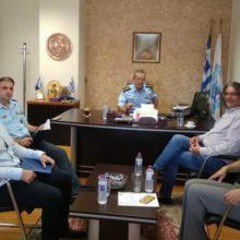 Τον Αστυνομικό Διευθυντή Κοζάνης  Διόγκαρη Σπυρίδωνα επισκέφθηκε ο Δήμαρχος Σερβίων Χρήστος Ελευθερίου την Τετάρτη 18 Σεπτεμβρίου