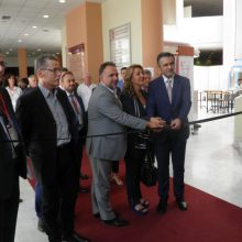 kozan.gr: Πραγματοποιήθηκαν το μεσημέρι της Πέμπτης 19 Σεπτεμβρίου, στο Εκθεσιακό Κέντρο στα Κοίλα Κοζάνης, τα εγκαίνια της έκθεσης του συνεδρίου «Μετάβαση των Βαλκανίων στην Καθαρή Ενέργεια» (Φωτογραφίες & Βίντεο)