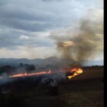kozan.gr: Αγροτική έκταση, κοντά στα νεκροταφεία Τσοτυλίου, πήρε φωτιά, μετά από πτώση κεραυνού (Βίντεο)