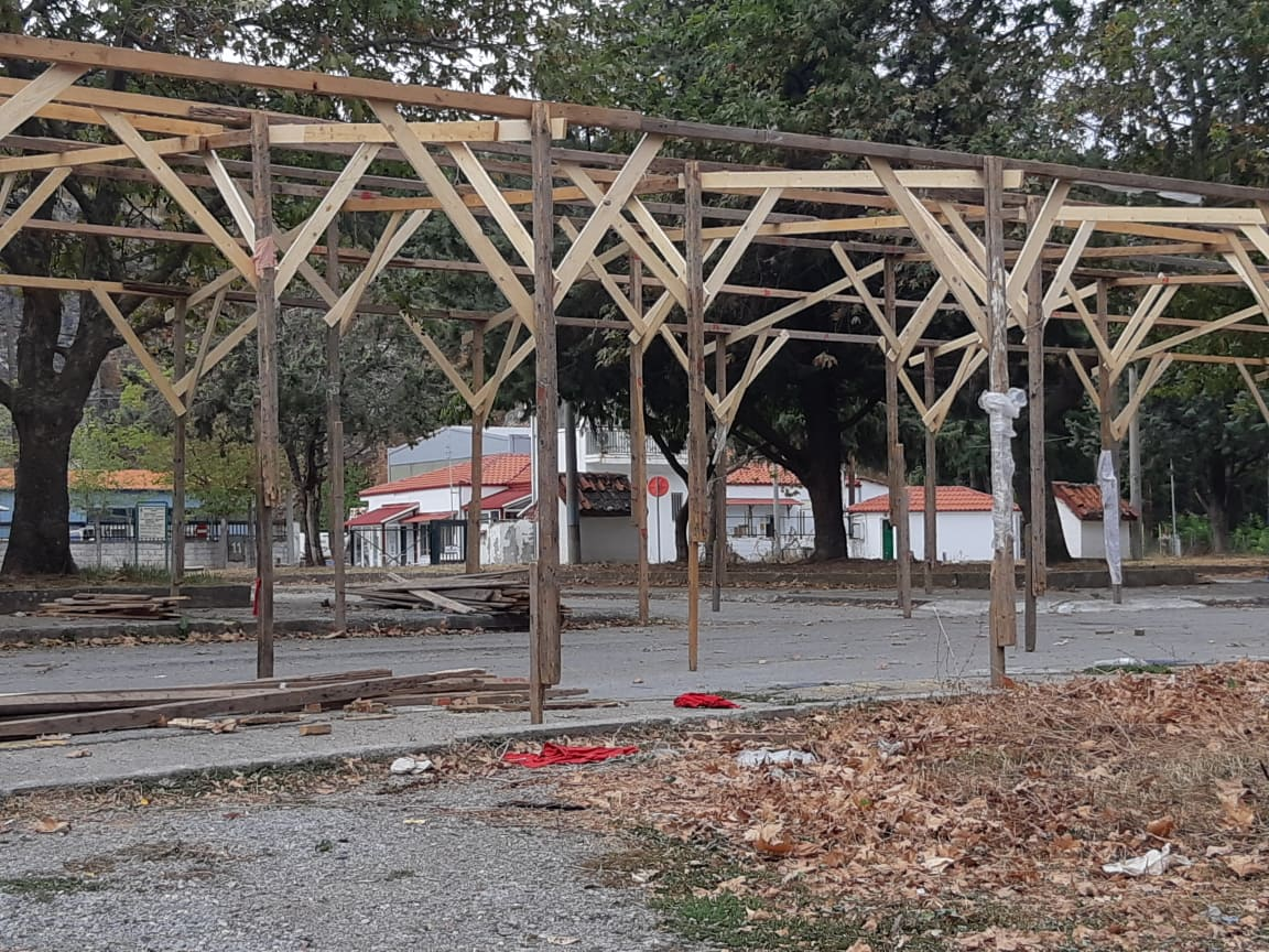 kozan.gr: Σημερινές εικόνες από τις εργασίες προετοιμασίας για τη φετινή Εμποροπανήγυρη της Κοζάνης (Φωτογραφίες)