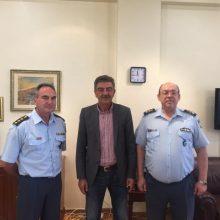 Επίσκεψη του Γενικού Περιφερειακού Αστυνομικού Διευθυντή Δυτικής Μακεδονίας, Ταξίαρχου κ. Κεραμά Θεόδωρου στον Δήμαρχο Γρεβενών κ. Δασταμάνη