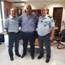 """Επίσκεψη του Γενικού Περιφερειακού Αστυνομικού Διευθυντή Δυτικής Μακεδονίας στον Αντιπεριφερειάρχη Γρεβενών Γιάννη Γιάτσιο"""""""