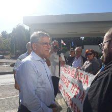 Πτολεμαΐδα: Διαμαρτυρία Συμβασιούχων Νοσηλευτών στο Μποδοσάκειο Νοσοκομείο