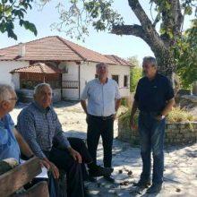 Λύση στα προβλήματα της Τοπικής Κοινότητας Διλόφου σχεδιάζει με τις Τεχνικές Υπηρεσίες της Π.Ε. Κοζάνης ο Αντιπεριφερειάρχης Γηργόρης Τσιούμαρης