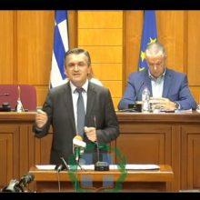"kozan.gr: Γ.  Κασαπίδης: ""Δε συμβιβαζόμαστε με τις απώλειες θέσεων εργασίας, έστω και μιας, όσο κι αν ακούγεται υπερβολικό. Αν θα χρειαστεί αυτή η μετάβαση να ξεπεράσει τη δεκαετία θα το διεκδικήσουμε και θα το τεκμηριώσουμε"" (Βίντεο)"