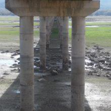 Σημερινές φωτογραφίες από τη γέφυρα του Ρυμνίου Κοζάνης