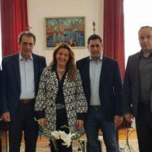 Επίσκεψη της Ελληνικής Ομοσπονδίας Γούνας στο γραφείο του Πρωθυπουργού στη Θεσσαλονίκη
