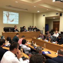 kozan.gr: Mε βίντεο αφιέρωμα στη λιγνιτική παραγωγή από τα ορυχεία της περιοχής ξεκίνησε, στη συνεδρίαση του Δημοτικού Συμβουλίου Κοζάνης, η συζήτηση γύρω από τις εξελίξεις της ΔΕΗ και του ενεργειακού σχεδιασμού της χώρας (Βίντεο & Φωτογραφίες)