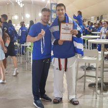 Xάλκινο μετάλλιο στο πανευρωπαϊκό πρωτάθλημα του Tae Kwon Do για τον Χρήστο Καραγκούλα του Σπάρτακου Κοζάνης