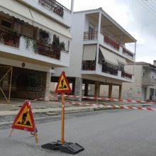 kozan.gr: Κλειστή από σήμερα η οδός Κορυτσάς (περιοχή Σκ'ρκα), από το ύψος της Διστράτου έως του Αγίου Νικάνορα (Φωτογραφία)
