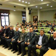 kozan.gr: Ασφαλής πλοήγηση στο διαδίκτυο & Σχολική Βία/ Διαχωρισμός επιθετικότητας ήταν τα θέματα της ημερίδας, που διοργάνωσε το απόγευμα της Τετάρτης 9/10, η Διεύθυνση Αστυνομίας Κοζάνης, στο πλαίσιο τετραήμερης εκστρατείας ενημέρωσης παιδιών και ενηλίκων με θέμα «Μαζί για την Ασφάλειά μας» (Φωτογραφίες & Βίντεο)