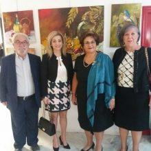 "kozan.gr: Εγκαινιάστηκε, το απόγευμα του Σαββάτου 12/10, η Ομαδική έκθεση του Συλλόγου Α. Γαρουφαλίδης ""Εικαστικές Αποδράσεις"" (Βίντεο & Φωτογραφίες)"